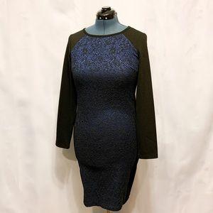 🌸2/$30🌸 Blue & Black Formal Dress by Tribal